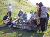Утров лагере