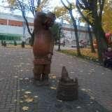 Парк на площади Ленина в Брянске