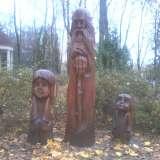 Деревянные персонажи