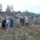 Зрители на склонах Ивановского луга