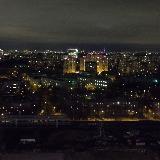 Вид из окна гостиницы Измайлово Бета