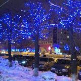 Новогодняя иллюминация в Новом городе