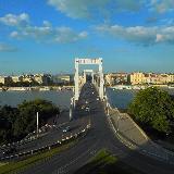 Один из мостов с холма Геллерта