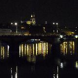 Ночной вид на мост Легионов