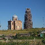 Вид на храм святой великомучиницы Екатерины