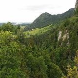 Вид с замка Нойшванштайн