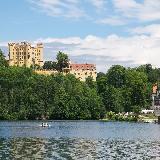 Озеро Альпзе и замок Хоэншвангау