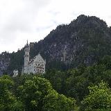 Вид замка Нойшванштайн