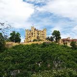 Вид замка Хоэншвангау