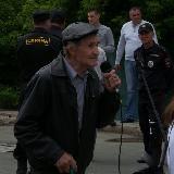 Митинг 12 июня 2017 года в Орске. Выступает 87-летний пенсионер