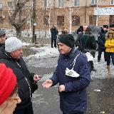Исмагилов общается с участниками митинга