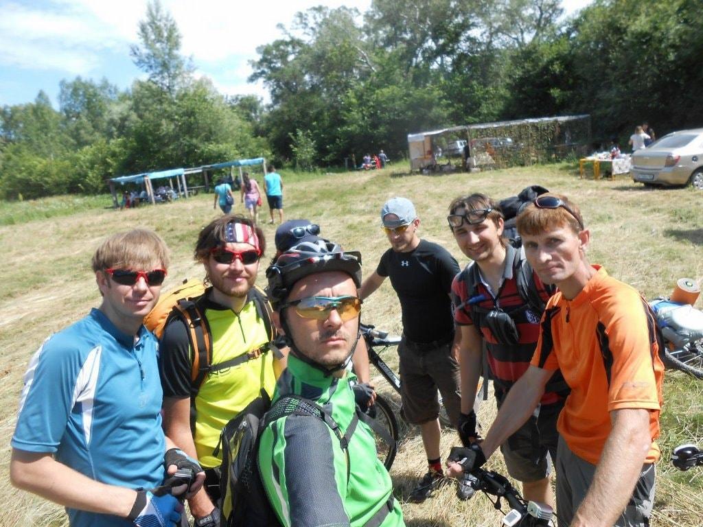 Компания велопохода в Кугарчи