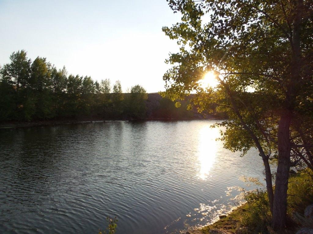 Восход солнца во втором затоне