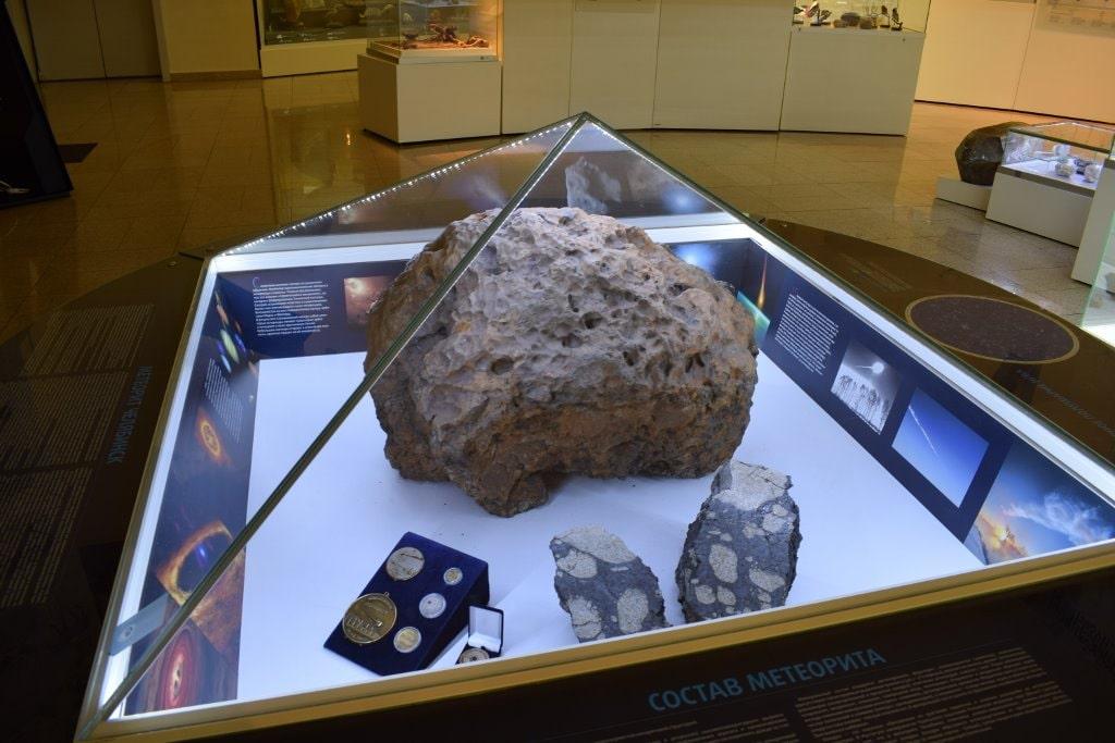 Знаменитый Чебаркульский метеорит