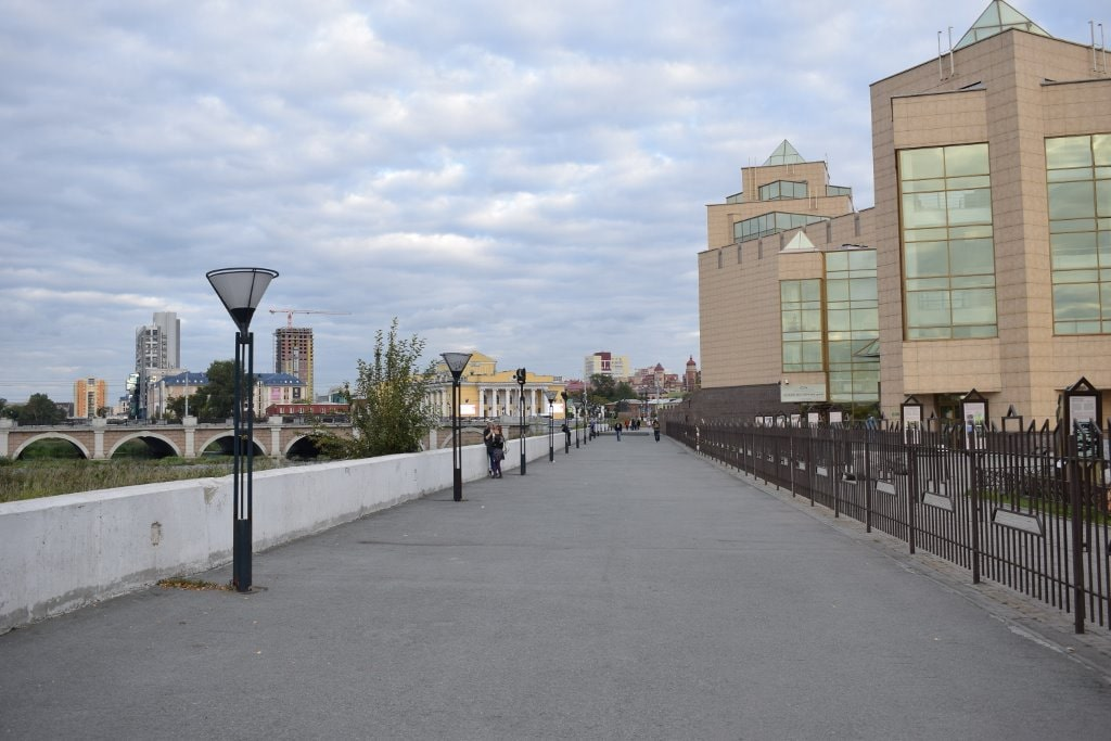 Краеведческий музей на берегу Миасса